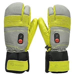 SAVIOR beheizte Handschuhe mit wiederaufladbare Lithium-Ionen-Batterie Beheizt für Männer und Frauen, warme Handschuhe…