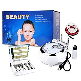 Facial Peel Vacuum Spray Machine Diamond Microdermabrasion Exfoliate Acne/Blackhead Oxygen/Anti Aging Wrinkle For Collagen Production Skin Health