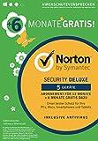Norton Security Deluxe 2019 | 5 Ger�te | 18 Monate Laufzeit| Schutz f�r PC/Mac/iOS/Android | Frustfreie Verpackung Bild