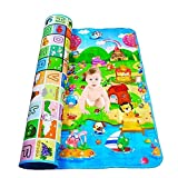 Ardith Playmat Waterproof, Anti Skid, Double Sided Baby Crawling Mat Waterproof Double Side