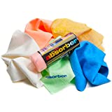 """Clean Tools The Mini Absorber Synthetic Drying Chamois, 17"""" x 13"""" (Color may vary),assorted"""