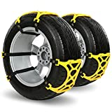 NuoYo 6pac Anti Snow Chains of Car,SUV Chain Tire...