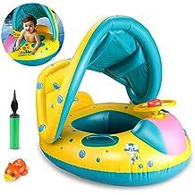 Joylink Flotador para bebé, 6-36 Meses Flotador Anillo de Natación Bebé Swim Ring