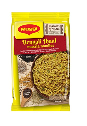 Maggi bengali Jhaal Masala Noodles, 73g (Pack of 6)  available at amazon for Rs.98