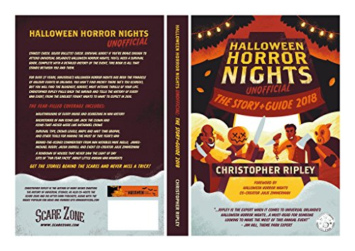 Halloween Horror Nights Unofficial: The Story & Guide 2018 (English Edition)