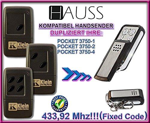HAUSS kompatibel handsender / klone TR-338