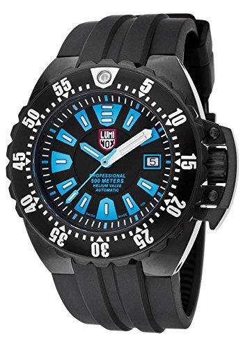 Luminox da uomo Deep Dive 1500 Series 44 mm nero poliuretano Band IP Custodia in acciaio orologio da 1503-S1