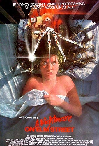 A Nightmare On Elm Street ... Classic Horror Movie Poster ... Various Sizes (A2 Size 42 x 61 cms)