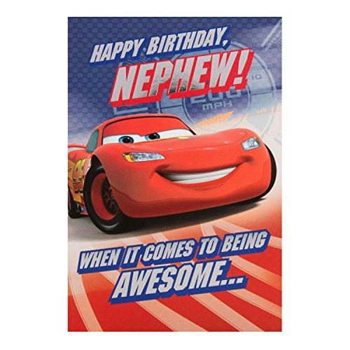 Tlcharger Pdf Hallmark Disney Cars Nephew Birthday Card Turbo