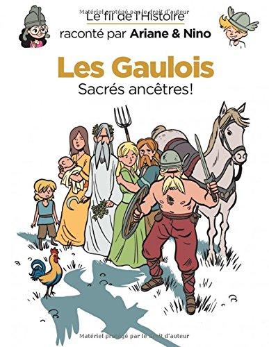Le fil de l'Histoire raconté par Ariane & Nino - tome 3 - Les Gaulois par Erre Fabrice