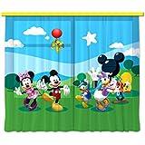 Diseño AG FCC xl 6307 cortina/cortinas decorativo Disney Mickey Mouse
