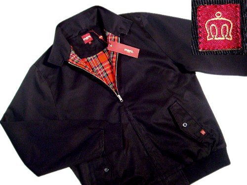 New Merc London Mod Fit Harrington Noir