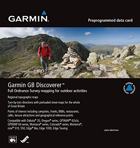 Garmin GB Discoverer Mapping für National Parks 1: 50 K 00 Navigations-software