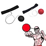 #9: Enjocho Speed Boxing Ball Reflex Fight Ball with Elastic Headband Training Reaction Ball On String Punching Focus Punch Head Band Trainer Perfect Reflex Ball &