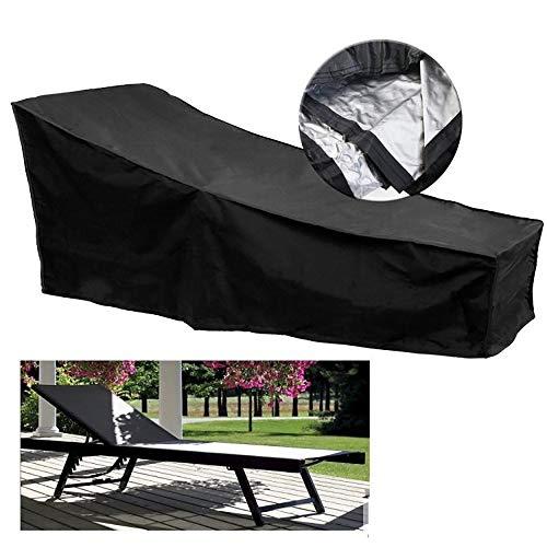Square Patio-möbel-abdeckungen (Marching orchid Outdoor-Möbel Set Cover, Durable Square Patio Tisch mit Stuhlabdeckung wasserdichte Outdoor-Möbel Tischdecken in Mehreren Größen, schwarz (Size : 77x79x210cm))