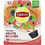 Lipton Lipton Thé Noir Fruits Rouges 12 Capsules Compatibles Nescafé Dolce Gusto 30 g - Pack de 4