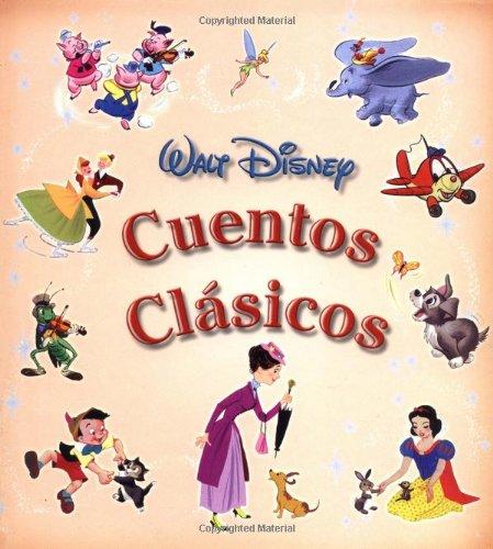 Walt Disney Cuentos Clasicos (Disney Coleccion De Cuentos/Disney Storybook Collections (Spanish))
