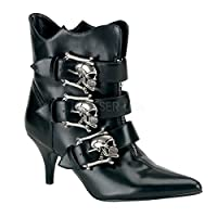 Demonia Women's Fury-06 Ankle Boots