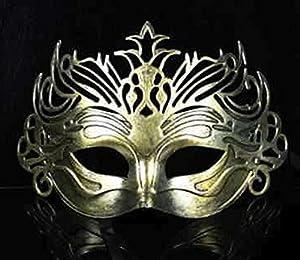 The Rubber Plantation TM 619219290227 - Disfraz de máscara veneciana de filigrana para hombre (talla única), diseño de bola de máscara