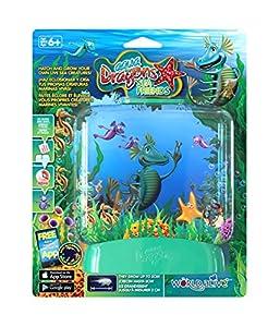 Aqua Dragons- Amigos Marinos Juguete Educativo, Color versión en Verde, Rosa, Lila, Amarillo, Turquesa (World Alive 4016)