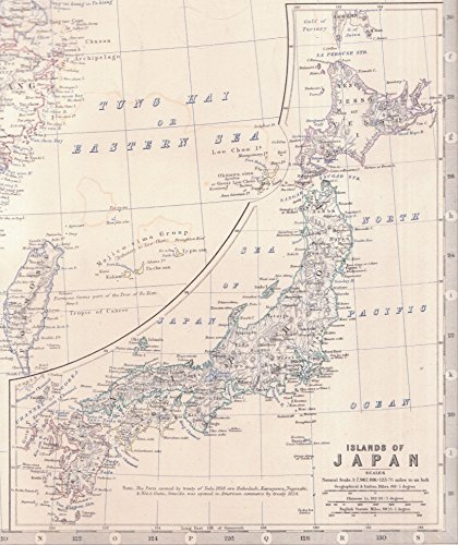 Japan 1860 Maps: Islands of Japan as they were mapped in 1860 (English Edition) - Japan, Antique Map