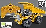 Fm-electrics| Muldenkipper mit Fernbedienung, Kipplaster, Lastwagen mit Fernsteuerung, XXL-Laster mit vonn funktionsfähigem Kipper !