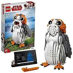 LEGO Star Wars - Porg, set de construcción de criatura del universo de La Guerra de las Galaxias (75230)