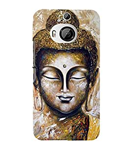 Fiobs Designer Back Case Cover for HTC One M9 Plus :: HTC One M9+ :: HTC One M9+ Supreme Camera (Gautam Buddh Buddhist Meditation )