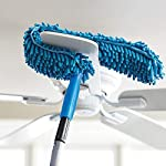 Ameeha JOY Flexible Microfiber Cleaning Duster with Extendable Rod for Home Office Car Fan Dusting Tools