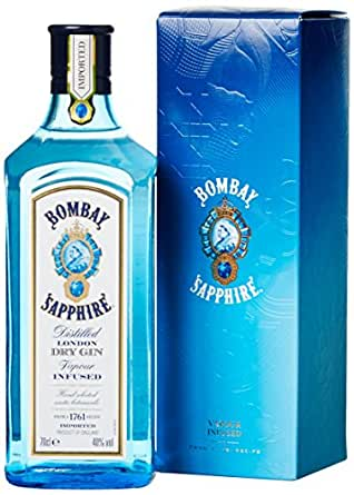 Bombay Sapphire Gin in Geschenkverpackung (1 x 0.7 l)