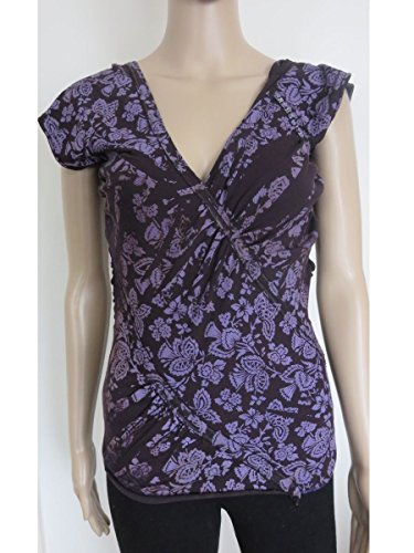 Freesoul Damen T-Shirt Violett - Violett