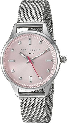Ted Baker TE50273003 - Reloj analógico de Cuarzo con Correa de Acero Inoxidable para Mujer