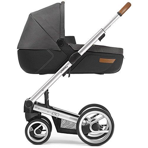 Mutsy Kinderwagen IGO - Urban Nomad dark grey / silver - Modell 2016