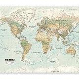 murando - Fotomural 350x256 cm - Papel tejido-no tejido - Papel pintado - Mapa del mundo k-a-0091-a-d