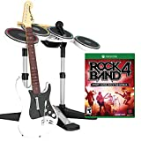 Mad Catz Rock Band 4 Band-in-a-Box Software Bundle for Xbox One - White by Mad Catz