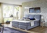 Breckle Boxspringbett 180 x 200 cm Cinderella Box Born Formschaummatratze My Balance 20 Topper Gel Premium Comfort