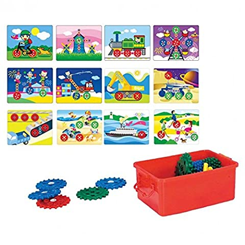 Gear Kit 70 PCS for Learning BoardWork Cards for Gear Kit 6 Double Sided