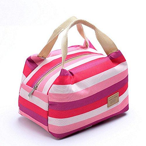 Malloom® pranzo borsa termico isolata totalizzatore portatile picnic borsa stoccaggio lunchbox