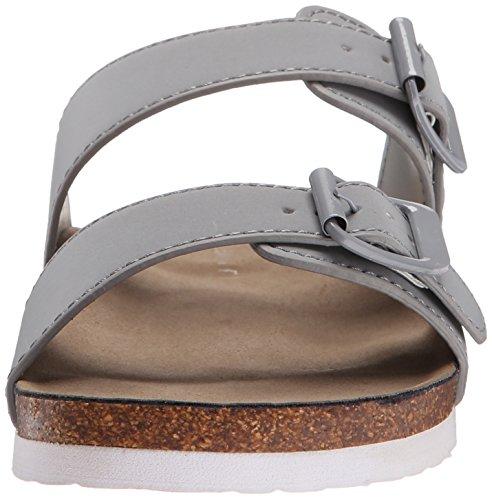 Madden Girl Brando Slide-sur Sandal Grey