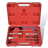 Festnight Motoreinstell-Werkzeug Steuerriemen Set 8 Stk. Werkzeuge für Chrysler/LDV