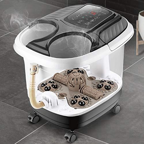 ZXCVB Masaje del pie lavabo termostato automático de hidromasaje burbuja pies barril barril profundo...