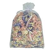 Pétales de delphiniumnaturels biodégradables –Confettis pour mariage, Vintage Mix Colours, 1l