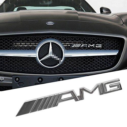 Preisvergleich Produktbild OPAYIXUNGS Metall-Gitter mit AMG Logo für Kühlergrill