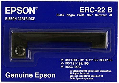Epson Pos-drucker (Epson Farbband Epson S015358 ERC22B schwarz)