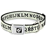 Buckle Down 9–38,1cm oja-ouija Planchette Full color nero/bianco Dog Collar