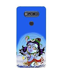 PrintVisa Little Animated Krishna 3D Hard Polycarbonate Designer Back Case Cover for LG V20 Dual H990DS :: LG V20 Dual H990N
