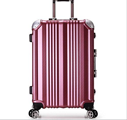 Diplomatico bagagli PC espandibile TSA Spinner bagagli , rose gold , 20 inch