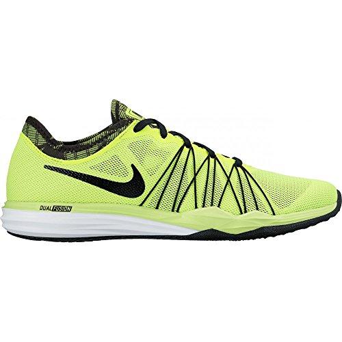Nike W Dual Fusion Tr Hit Prnt, Scarpe da Escursionismo Donna Verde (Verde (volt/black-white))