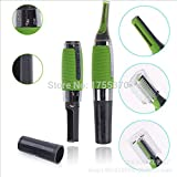 Stainless Steel Nose Ear Face Hair Trimmer Removal Clipper Shaver With LED Light For Men And Women Personal Health...