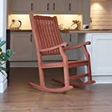 'Wellwood' Traditional Classic FSC Hardwood Rocking Chair- Hard Wearing - For Indoor or Outdoor Use